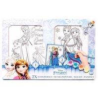 Set Frozen de colorat, 2 folii