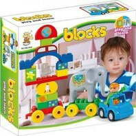 STOP & LOOK SET BLOCURI DE CONSTRUIT CIRC SET 29PCS