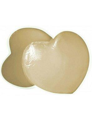 Accesorii din silicon pentru sani in forma de inima