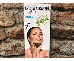 NATURAL ARGILA ALBASTRA DE RACIU PULBERE 1000 GR