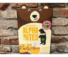 NATURAL CEREALE ALPHA BITES MULTICEREALE BEAR  FARA ZAHAR 375 GR