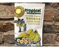 ECO BANANA CHIPS 150 GR