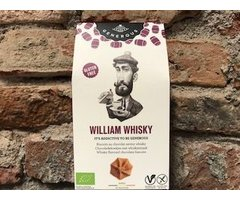 ECO BISCUITI CU CIOCOLATA SI SAVOARE DE WHISKY WILLIAM WHISKY 120 GR