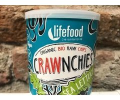 ECO CHIPS RAW CRAWNCHIES ECO CHIP RAW CRAWNCHIES CU ALGE MARINE 20 GR