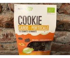 ECO COOKIE RAW CAROB-PORTOCALE 80 GR