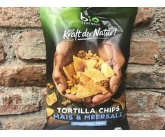 ECO TORTILLA CHIPS CU SARE 125 GR