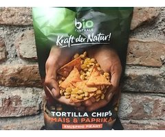 ECO TORTILLA CHIPS CU ARDEI 125 GR