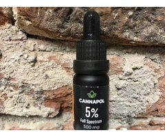 NATURAL CANNAPOL 5% 10 ML