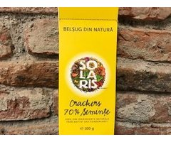 NATURAL CRACKERS 70% SEMINTE 100 GR