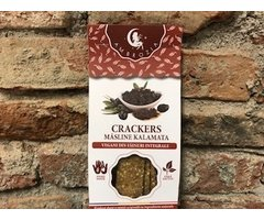 NATURAL CRAKERS CU MASLINE KALAMATA 125 GR