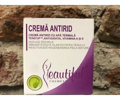 NATURAL CREMA ANTIRID CU APA TERMALA TENS'UP, ANIOXIVITA, VITAMINA A SI E BEAUTIFUL 50 ML