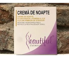NATURAL CREMA DE NOAPTE BEAUTIFUL 50 ML