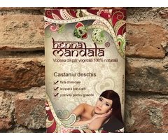 NATURAL HENNA  CASTANIU DESCHIS 145 GR