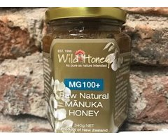 NATURAL MIERE CRUDA DE MANUKA MG100+ 340 GR