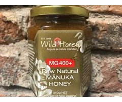 NATURAL MIERE CRUDA DE MANUKA MG400+ 340 GR