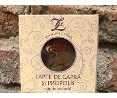 NATURAL SAPUN CU LAPTE DE CAPRA SI PROPOLIS 150 GR