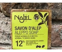 NATURAL SAPUN DE ALEPP 12% 170 GR