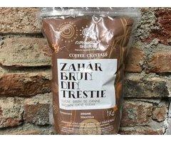 NATURAL ZAHAR BRUN DE TRESTIE COFEE CRYSTALS MAURITIUS 275 GR