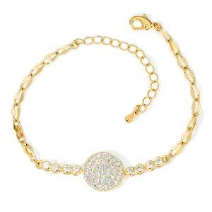 Bratara - Sugar Beads - placata cu aur 18K