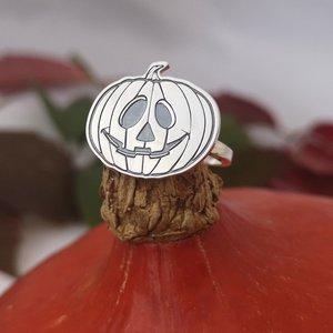 Inel personalizat - Dovleac - Argint 925
