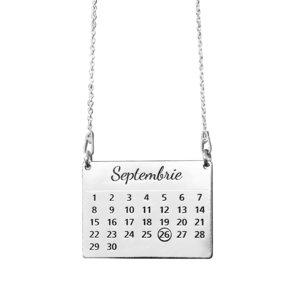 Lantisor Calendar - Argint 925