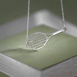 Lantisor Racheta de tenis - Argint 925