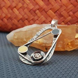 Pandantiv Ginger Root - Argint 925