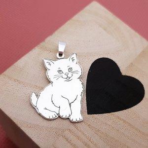 Pandantiv Pisica - Argint 925