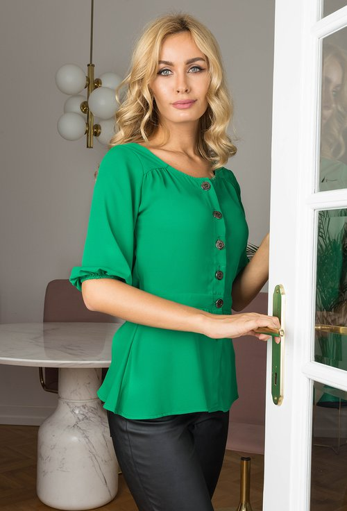 Bluza verde Claire