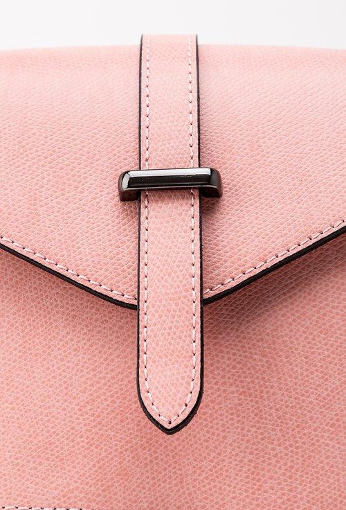 Geanta roz din piele naturala Mary Jane