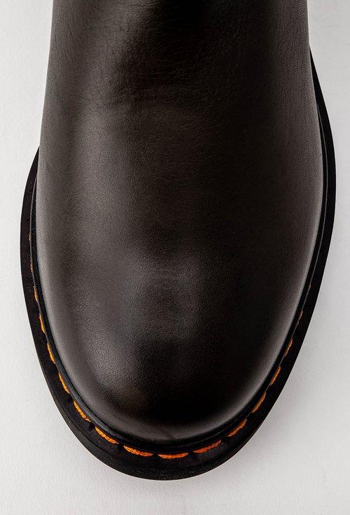 Ghete kaki inchis din piele naturala Dorado