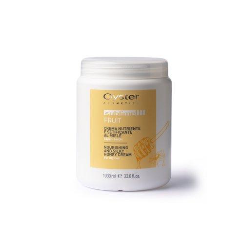 Masca nutritiva cu miere pentru parul uscat