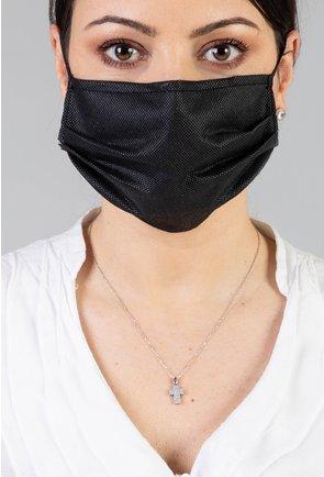 Pachet cu 10 masti negre din polipoprilena