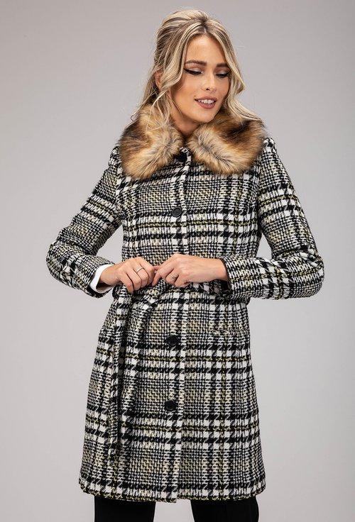 Palton in carouri Noelia