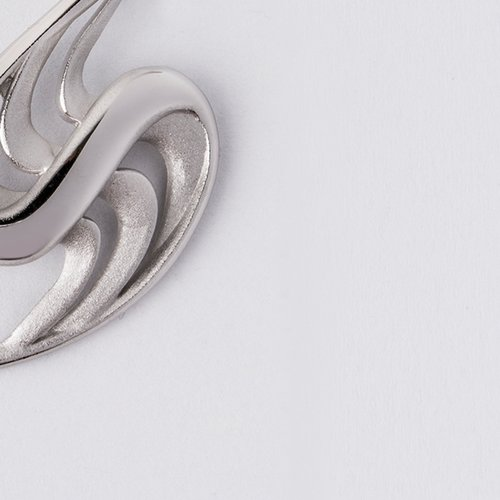 Pandantiv din argint cu forma serpuita 43955