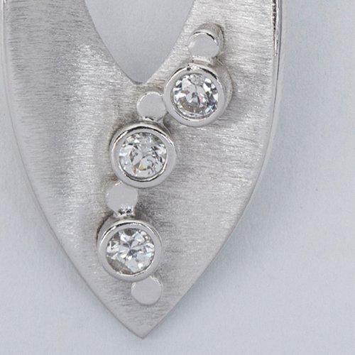 Pandantiv din argint cu pietre de zirconiu 36306