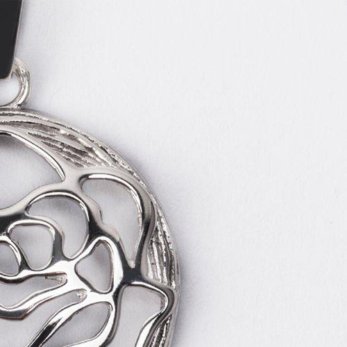 Pandantiv rotund din argint 36283