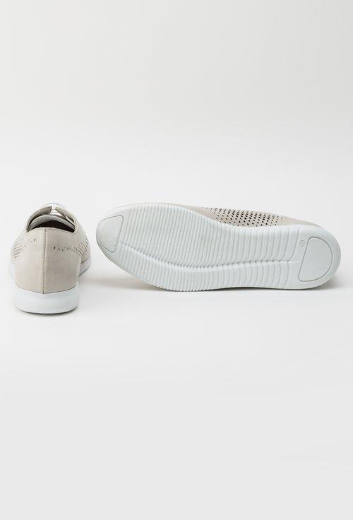 Pantofi casual bej din piele naturala Yasmine