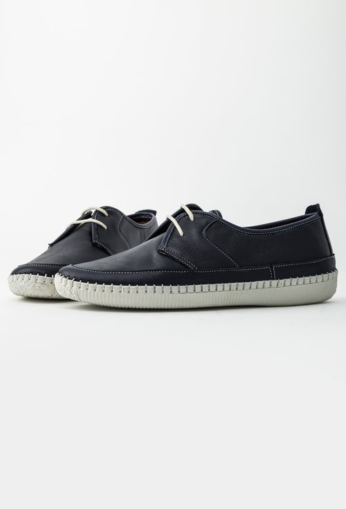 Pantofi casual bleumarin din piele naturala Vero