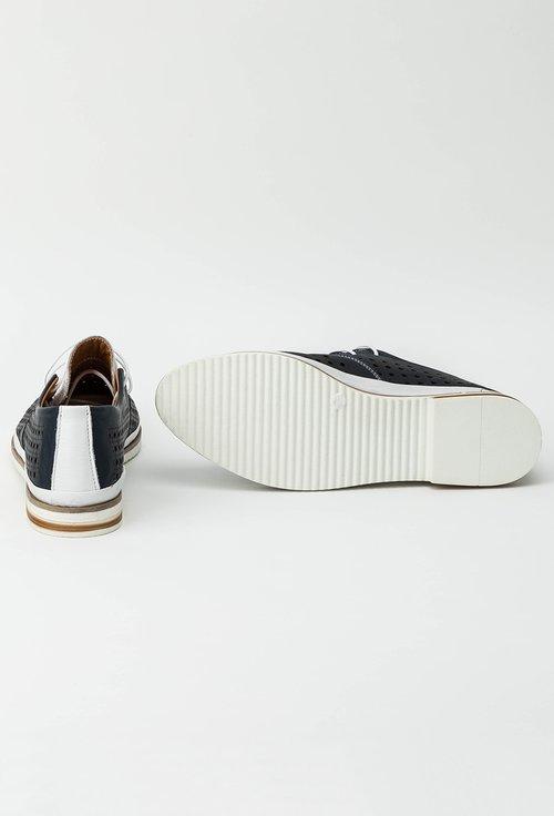 Pantofi casual bleumarin din piele naturala Zorina