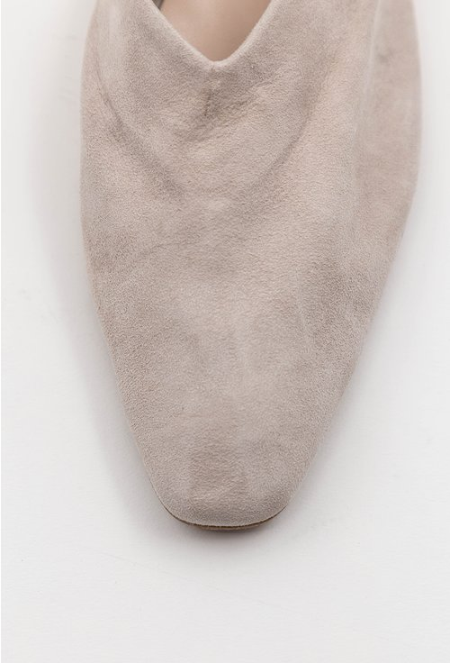 Pantofi casual tip loafers din piele naturala intoarsa