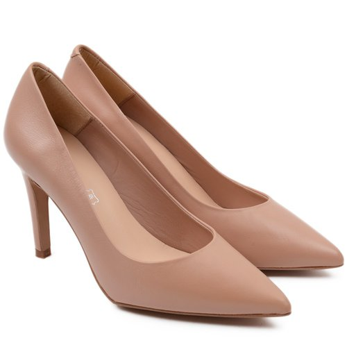 Pantofi din piele naturala Alegria