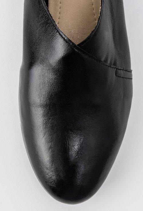 Pantofi negri din piele naturala Ava