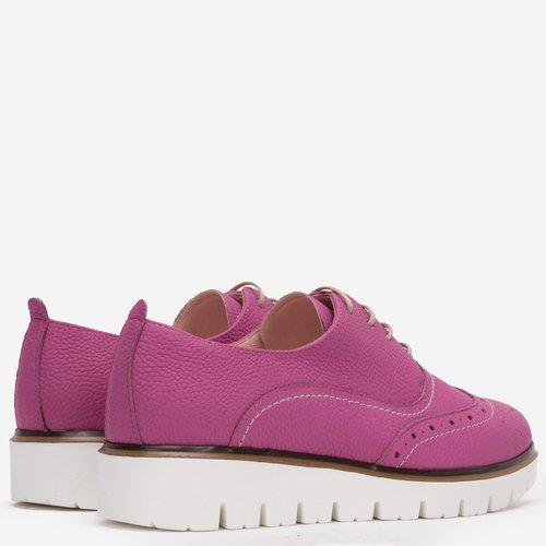 Pantofi Oxford din piele naturala Jenny