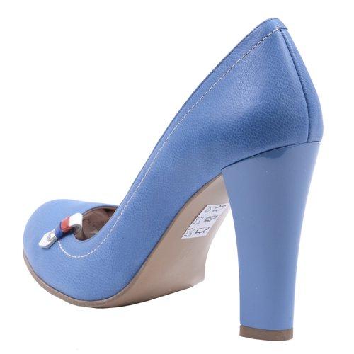 Pantofi Piele Naturala Blue Sky