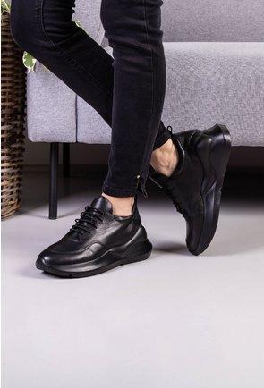 Pantofi sport din piele naturala box