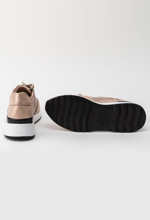 Pantofi sport roz pal din piele naturala Devona