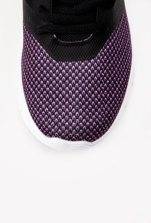 Pantofi sport S-Karp Sneaker Motion nuanta negru cu mov