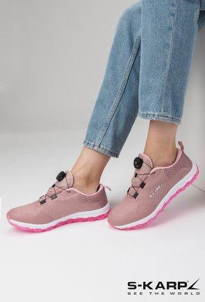 Pantofi sport S-Karp Sneaker Vision nuanta roz pudra