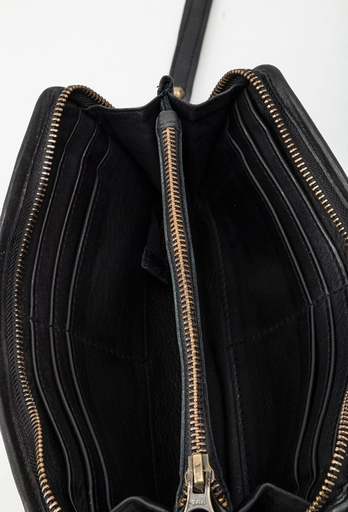 Portofel negru din piele naturala 145014